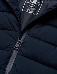 Champion - Hooded Polyfilled Jacket - parkas - sky captain - 4