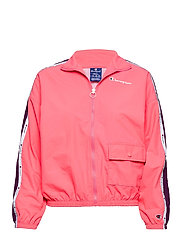 Full Zip Sweatshirt - STRAWBERRY PINK