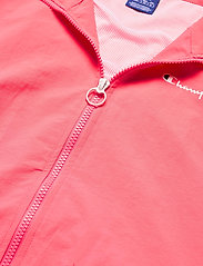 Champion - Full Zip Sweatshirt - svetarit - strawberry pink - 5