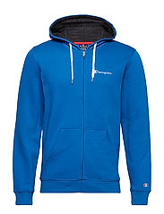 Hooded Full Zip Sweatshirt - SNORKEL BLUE