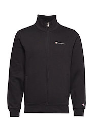 Full Zip Sweatshirt - BLACK BEAUTY