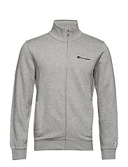 Full Zip Sweatshirt - GRAY MELANGE LIGHT