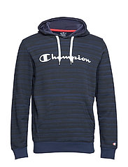 Hooded Sweatshirt - BLACK IRIS AL (BLI)