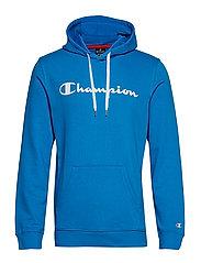 Hooded Sweatshirt - BLUE ASTER