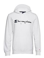 Hooded Sweatshirt - WHITE