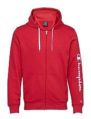 Hooded Full Zip Sweatshirt - AMERICAN BEAUTY