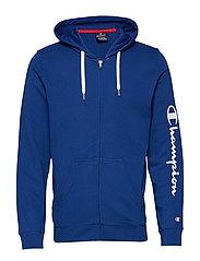 Hooded Full Zip Sweatshirt - SODALITE BLUE