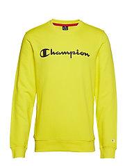 Crewneck Sweatshirt - BLAZING YELLOW