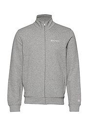 Full Zip Sweatshirt - GRAY MELANGE LIGHT