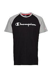 Crewneck T-Shirt - BLACK BEAUTY