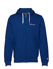 Hooded Full Zip Sweatshirt - SODALITE BLUE