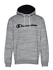 Hooded Sweatshirt - GREY MELANGE  LIGHT