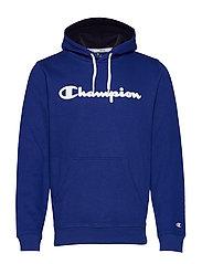 Hooded Sweatshirt - MAZARINE BLUE