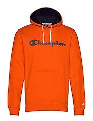 Hooded Sweatshirt - TANGERINE TANGO