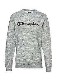 Crewneck Sweatshirt - GREY MELANGE  LIGHT