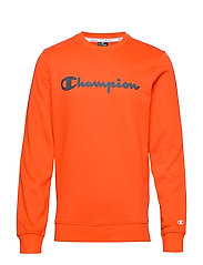 Crewneck Sweatshirt - TANGERINE TANGO