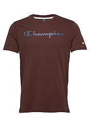 Crewneck T-Shirt - PUCE
