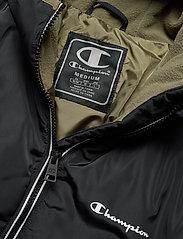 Champion - Hooded Jacket - anoraki - black beauty - 2