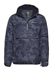 Hooded Jacket - BLACK IRIS AL (BLI)