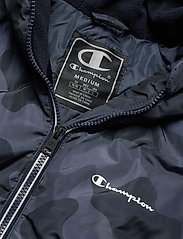 Champion - Hooded Jacket - anoraki - black iris al (bli) - 2
