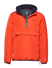 Hooded Jacket - TANGERINE TANGO
