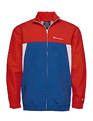 Full Zip Sweatshirt - HIGH RISK RED