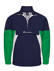 Half Zip Sweatshirt - MEDIEVAL BLUE A