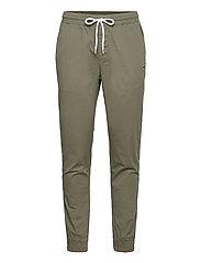 Elastic Cuff Pants - DEEP LICHEN