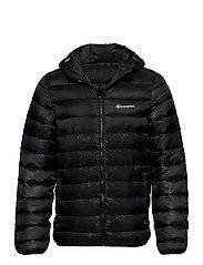 Hooded Jacket - BLACK BEAUTY  AL (NBK)
