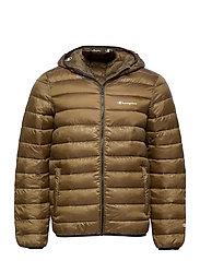 Hooded Jacket - MILITARY OLIVE AL (MGE)
