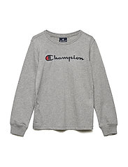 Long Sleeve T-Shirt - GRAY MELANGE LIGHT