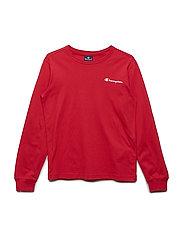 Long Sleeve T-Shirt - TRUE RED