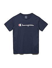 Crewneck T-Shirt - BLACK IRIS