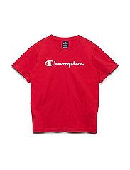Crewneck T-Shirt - TRUE RED