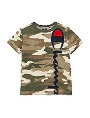 Crewneck T-Shirt - GAVEL AL (PLK)