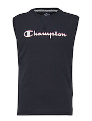 Sleeveless Crewneck T-Shirt