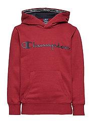 Hooded Sweatshirt - BIKING RED