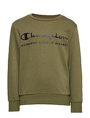 Crewneck Sweatshirt - WINTER MOSS