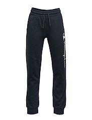 Rib Cuff Pants - SKY CAPTAIN