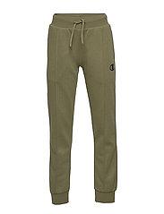 Rib Cuff Pants - WINTER MOSS