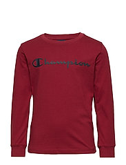 Crewneck Long Sleeve T-Shirt - BIKING RED