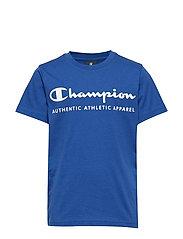 Crewneck T-Shirt - MAZARINE BLUE