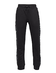 Rib Cuff Pants - BLACK BEAUTY
