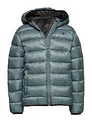 Hooded Jacket - GREY MELANGE LIGHT AL (GRLTM)