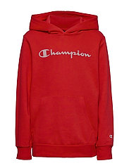 Hooded Sweatshirt - HIGH RISK RED