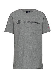 Crewneck T-Shirt - GRAPHITE GREY MELANGE JASP