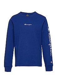 Long Sleeve Crewneck T-Shirt - MAZARINE BLUE