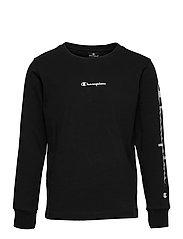 Long Sleeve Crewneck T-Shirt - SKY CAPTAIN