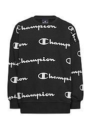 Crewneck Sweatshirt - BLACK BEAUTY  AL