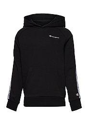 Hooded Sweatshirt - BLACK BEAUTY